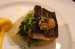 restaurant Park - Pan-seared black salmon and butternut squash