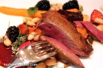 Excellent roast squab (a little domestic pigeon raised in one of two farms in Quebec)