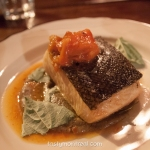 Maison Publique - Saumon Sauvage lentilles et poivrons