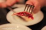 Venti - Cansunziei all'ampezzana beet filled ravioli, butter,