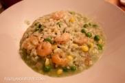 Madre - Shrimp risotto, corn sauce, coriander