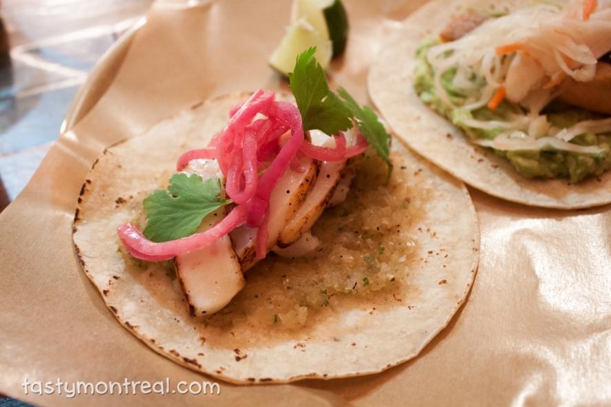 Restaurant Mais - Squid Taco