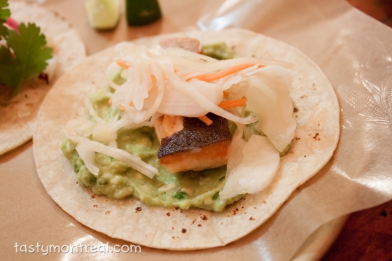 Restaurant Mais - Artic  Char Taco
