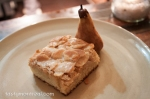 Restaurant Mais - Almond cake with dehydrated pear
