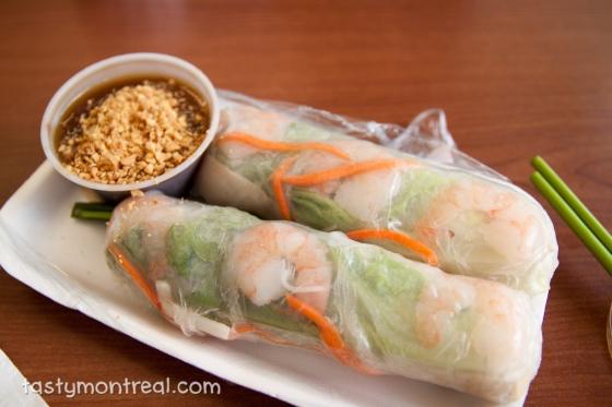 Goi cuon Fresh spring rolls