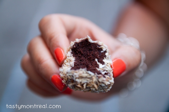 Momofuku Milk Bar - German Chocolate Jimbo Cake Truffle